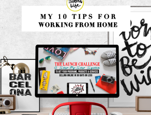 MY TEN TIPS FOR WORKING AT HOME